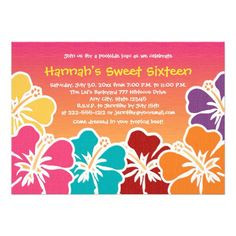 >>>Coupon Code          Luau Sweet Sixteen Birthday Party Invitations           Luau Sweet Sixteen Birthday Party Invitations lowest price for you. In addition you can compare price with another store and read helpful reviews. BuyDeals          Luau Sweet Sixteen Birthday Party Invitations ...Cleck Hot Deals >>> http://www.zazzle.com/luau_sweet_sixteen_birthday_party_invitations-161351510282298894?rf=238627982471231924&zbar=1&tc=terrest