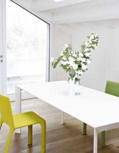 Kristalia NORI table by Bartoli Design