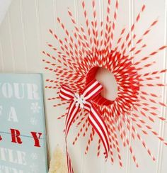 24 DIY Christmas Wreath Ideas - Easy, cheap and cute!