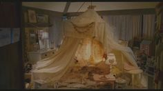 "This is from ""The Holiday."" I would love to have a fort like this in a playroom!"