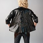 Studded eagle jacket and pant available for order very soon on kellybrinn.com!