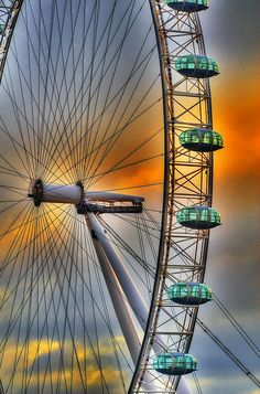 London Eye London Eye, Fair Grounds, Eyes, Travel, United Kingdom, Viajes, Destinations, Traveling, Trips