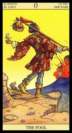 The Fool - Tarot of the New Vision. EL LOCO