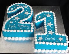 Bespoke Bakery - Cakes for Special Occasions! Based in Basingstoke, Hampshire - Numeral Cakes