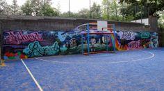 Educational graffiti style art