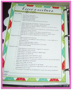 A Special Sparkle: Organizing Important Student Information. Emotional Support Classroom, Teacher Organization, Organizing, Data Binders, Teaching Kindergarten, Teaching Ideas, Student Information, School Signs, Bullet Journal