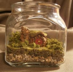 Miniature Custom Hobbit House Terrarium