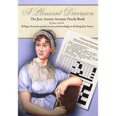 A Pleasant Diversion - The Jane Austen Puzzle Book