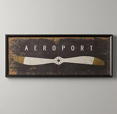 Art/Wall Decor - Aeroport Art | Wall Art | Restoration Hardware Baby & Child - aeroport, art
