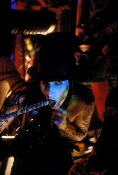 Manson in Dope Hat video, I don't recall this bit.