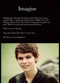 Ok Robbie Kay isn't bad it's just his character that I hate
