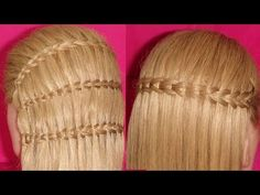 Waterfall Braid Scissors Technique | Hair Tutorial | ViriYueMoon - YouTube