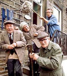 Last Of The Summer Wine - British Comedy. Awesome...great laughs.