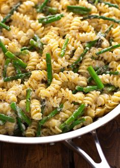 Easy to make lemon mascarpone pasta as a main meal or a side. With sauteed asparagus, lemon mascarpone pasta is loaded with lemon zest, juice, and garlic. Sauteed Asparagus Recipe, Saute Asparagus, Baked Asparagus, Lemon Asparagus, Mascarpone Pasta Recipe, Sauce Recipes, Pasta Recipes, Lemon Rosemary Chicken, College Cooking