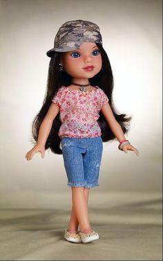 """I am """"Dell"""" from the USA! I am known as the girl whose songs could move mountains! I live in the Appalachian Mountains in Kentucky. My father is a coal miner, but he is out of work at the moment. I am available NOW at Canadian Walmart stores with my five other friends."""