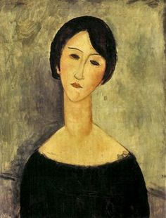 Brunette. Modigliani