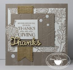 Yvonne is Stampin' & Scrapping: Stampin' Up! Sneak Seasonal Catalogue 2015 Lighthearted Leaves #stampinup #seasonal