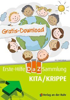 Wir freuen uns, dass unser Gratis-Download #DaZ (Deutsch als Zweitsprache) so gut angekommen ist! Wir haben jetzt noch eine Datei hinzugefügt: Ab jetzt können Sie auch Materialien für die ganz Kleinen kostenlos herunterladen. Sogar zwei Lieder im MP3-Format sind dabei. Schließlich stehen auch die Kitas und Krippen vor einer besonderen Herausforderung und auch hier möchten wir gerne helfen. | #Gratis #Download #Kopiervorlagen #Kita #Krippe #Freebie