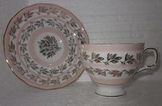 Fine Bone China Pink Cottage Shabby Tea