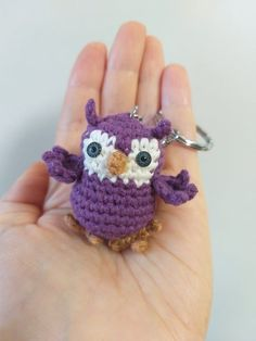 Handmade keychain owl gift for friends, Miniature animal talisman, knitted gift for girl 20 Gift Pics Birthday Presents For Girls, Presents For Mom, Gifts For Girls, Girl Gifts, Special Gift For Girlfriend, Girlfriend Gift, Best Friend Gifts, Gifts For Friends, Crochet Bookmarks