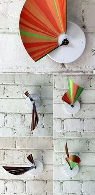 20 Unusual and Creative DIY Clocks  Image Source