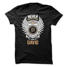 Never Underestimate The Power of a DAVID T Shirt, Hoodie, Sweatshirt