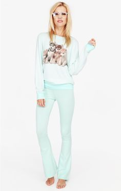 Wildfox Not There Yoga Pant