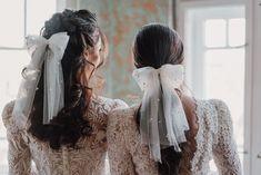 Bridal Hair Bow wedding hairpiece #bride #weddings #bridalhair #hairpiece #swarovski Wedding Bows, Wedding Hair Pieces, Bridal Accessories, Bridal Hair, Hair Bows, Swarovski Crystals, Dreadlocks, Ruffle Blouse, Bride