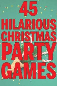 45 Hilarious Christmas Party Games Hilarious Christmas party games for all ages and occasions! Minute to win it games, funny gift exchange ideas, games for kids, and even games for a work party! Perfect for groups and office Christmas parties! Christmas Party Games For Groups, Party Games Group, Christmas Gift Games, Xmas Games, Adult Christmas Party, Holiday Games, Christmas Activities, Christmas Humor, Christmas Ideas