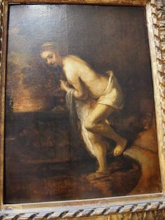 Paul Valery noticed that to Rembrandt all flesh is clay, unless turned into gold by light.