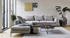Daley Sofa by Montis, now available at Haute Living. Modern Sectional, Modern Sofa, Sectional Sofa, Couch, Interior Design Blogs, Sofa Design, Furniture Design, Decoration, Contemporary Design