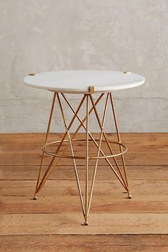 Betelline Side Table - anthropologie.com