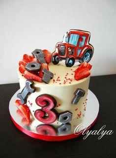 Baby Birthday Cakes, Baby Boy Cakes, Fondant Cookies, Farm Cake, Funny Cake, Cakes For Boys, Drip Cakes, Cake Ingredients, Cake Designs