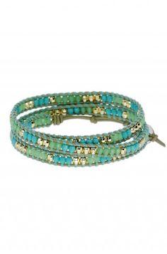 Wanderlust Triple Wrap - New favorite bracelet! - Comes in two colors!  http://www.stelladot.com/ts/uwgn5
