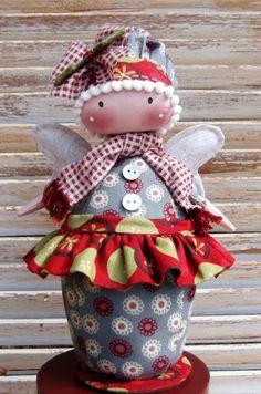 Wynter Faerie, doll pattern designed by Annie Smith