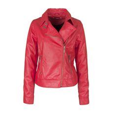 #perfecto en #cuir #rouge BACK