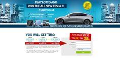 Lotto Win Tesla