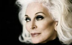 At 81 years of age, Carmen dell'Orefice is the second oldest fashion model in the world