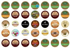 Crazy Cups Flavored Coffee Sampler  K-Cup Portion Pack for Keurig K-Cup Brewers (Pack of 35):