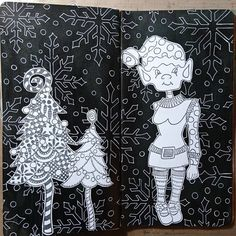 Stencils, Diy And Crafts, Stamp, Black And White, Photo And Video, Journals, Christmas, Anime, Wedding