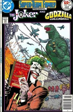 Super-Team Family: The Lost Issues!: The Joker and Godzilla