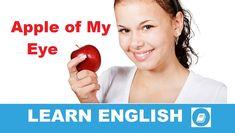 Angol kifejezések egy percben videó lecke. Nézzük meg, mit jelent ez az angol kifejezés: Apple of My Eye, és hogyan használjuk a hétköznapi angol beszédben.