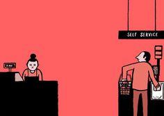 Allo? explora mediante inteligentes ilustraciones cómo nos comunicamos - Cultura Inquieta