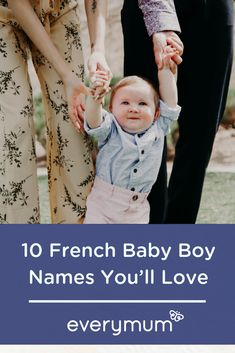 If you're looking for ideas for your new arrival's name, then why not take inspiration from the French? Each name we've chosen is handsome and sophisticated, with a certain 'je ne sais quoi' . perfect for your little boy. Irish Baby Names, Cool Baby Names, Unique Baby Names, Kid Names, Celebrity Baby Pictures, Celebrity Baby Names, Celebrity Babies, Kids Sleep, Baby Sleep