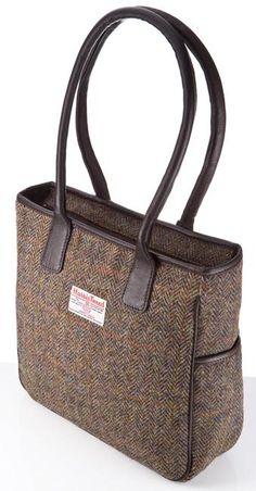 Harris Tweed Handbag - Becca - £92.00