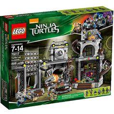 LEGO Nickelodeon Ninja Turtles Turtle Lair Invasion