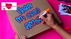 CAJA SORPRESA (SURPRICE BOX) - Dia De Amor y Amistad - CREACIONES BETINA Origami, Diy And Crafts, Paper Crafts, Present Gift, Romantic Gifts, Valentines Diy, Easy Diy Projects, Flower Crafts, Diy Tutorial