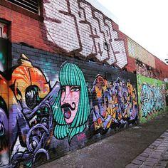 Artistic laneways of Melbourne #brunswick #streetart #australia #art #wanderlust #travel #explore #instatravel #graffiti #mural #artist #melbourne #thebigexplorer