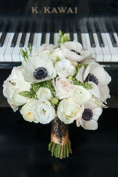Anemone bouquet | Photo by Mikkel Paige | Floral design by Flowers by Ivona