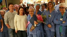 See oldest working nurse in America get heartwarming birthday surprise
